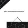 Black matt wall 10×30 01
