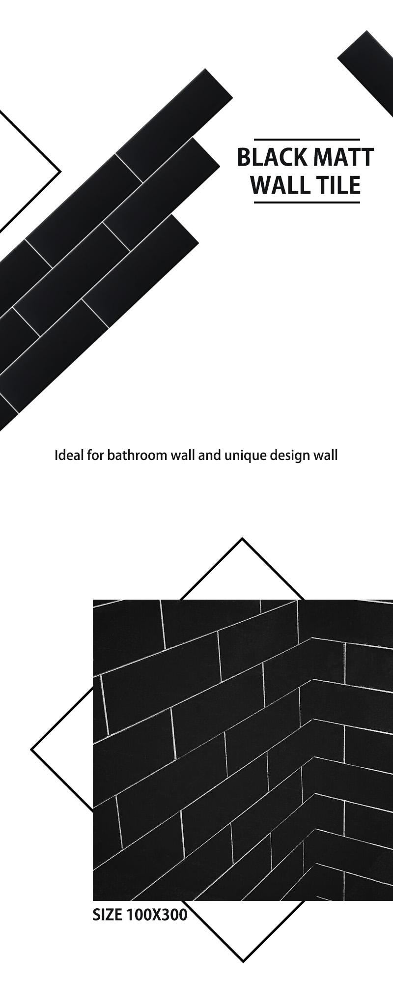 Black matt wall 10x30 01