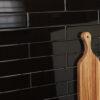 Black Gloss Wall 65×400 chp