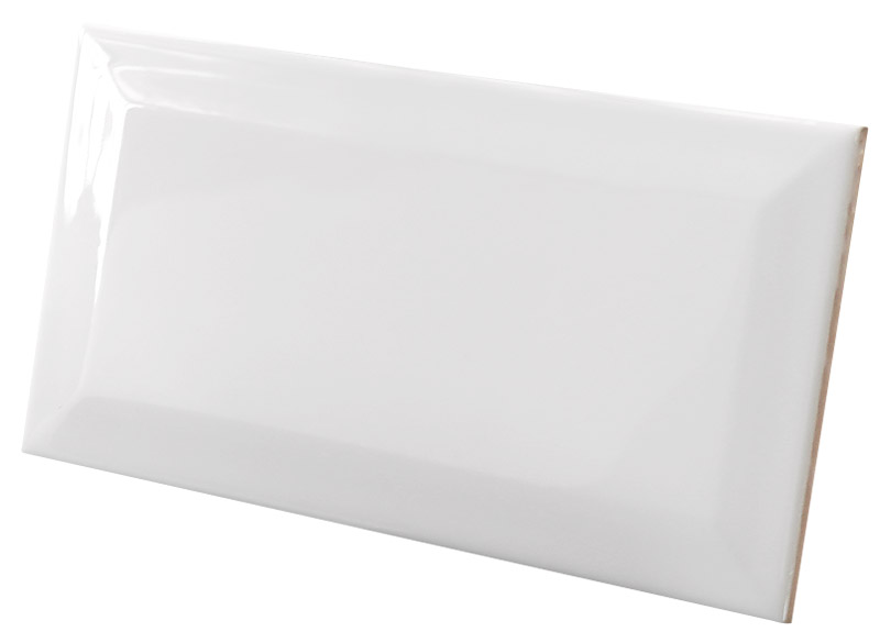 white gloss bevelled 100x200_ surface_chp